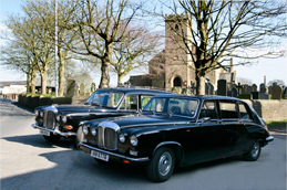 Transport for the funeral service