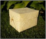 Bamboo Ash Casket
