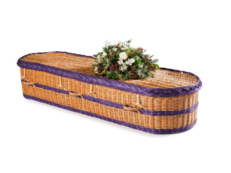 English Willow Round Purple